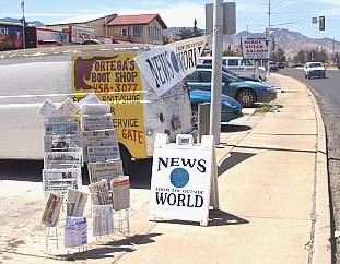 First location of news stand